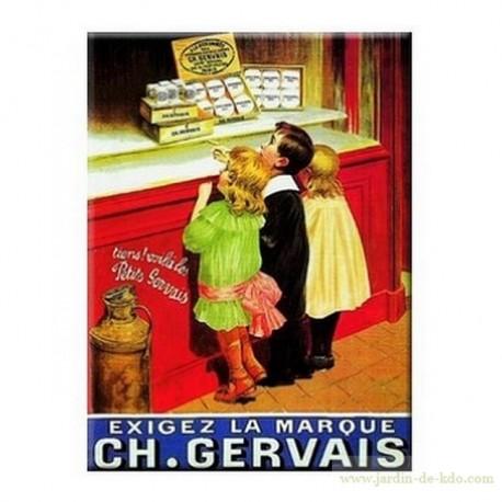 Magnet CH. GERVAIS Exigez La Marque