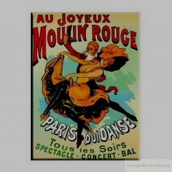 Magnet Moulin Rouge Paris Bal Danse