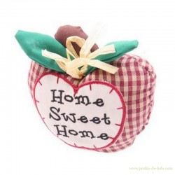 "Presse-Papier Pomme ""Home Sweet Home"""