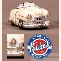 Tirelire voiture beige Buick USA