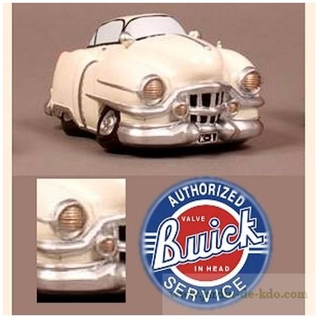 Tirelire voiture beige Buick USA