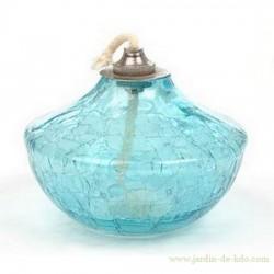 """Lampe à huile """"Toupie Bleue"""""""