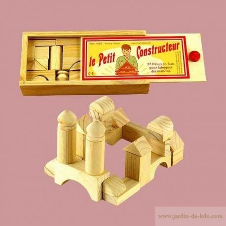 """Jeu """"Le petit constructeur"""" en bois"""