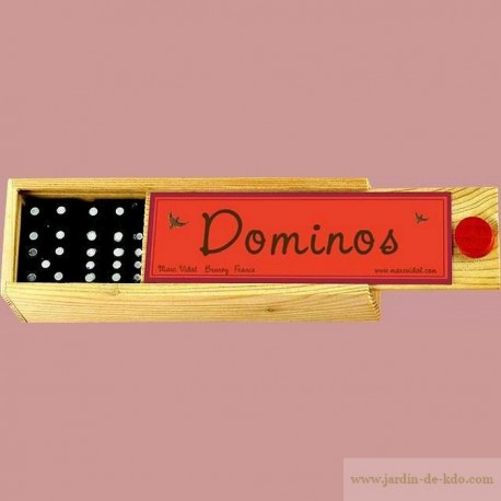 Boite à Dominos Marc Vidal