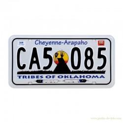 """Plaque Oklahoma """"Cheyenne - Arapaho"""""""