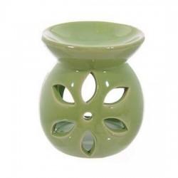 Petit brûleur à huile couleur vert