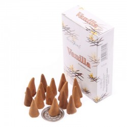 Boite cônes encens stamford vanille