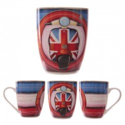 Mug scooter vespa Union Jack