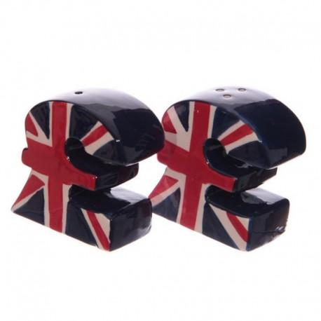 Salière et poivrière Livre Sterling UK