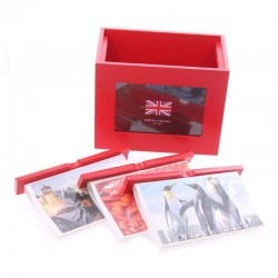 Coffret Trois Albums-Photos UK
