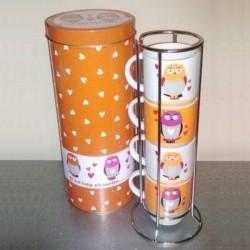 Distributeur 4 mugs c'est trop chouette