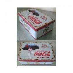 Boite à sucre Coca-Cola Grand Chapeau