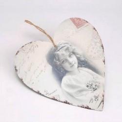 """Coeur à suspendre """"Mélancolie"""""""