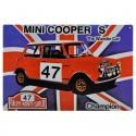 """Plaque """"Mini Cooper S"""" RMC"""