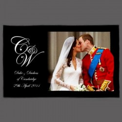 Torchon Mariage Royal Anglais William & Kate