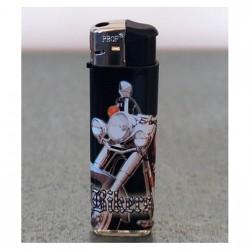 """Briquet électronique rechargeable """"Moto Rouge"""""""