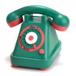 Tirelire téléphone rétro vert Allo Maman Bobo