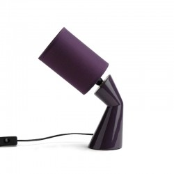 Lampe Oblique Prune