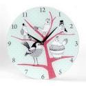 """Horloge contemporaine """"Les Oiseaux"""""""