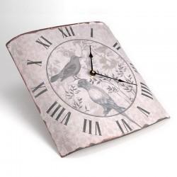 Horloge bombée Les Oiseaux Amadeus