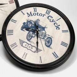 Horloge Motor Cycle Club Voiture Ancienne