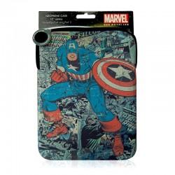 Housse tablette Captain America Marvel