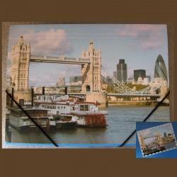 Pochette à rabats Londres Tower Bridge