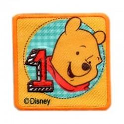 Ecusson Winnie the Pooh nombre un Disney