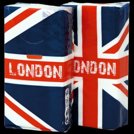 Paquet de mouchoirs en papier London UK