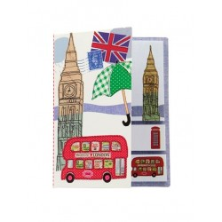 Carnet de feuilles repositionnables London