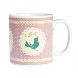 Mug Chant d'Oiseau Rose