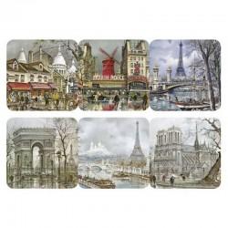 Sous-verres Paris Peintures Legendre