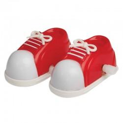 Chaussures marchantes en plastique