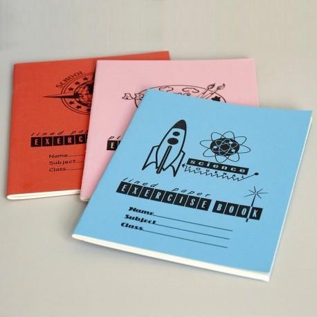 Set de 3 cahiers d'exercices English Vintage
