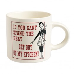 Mug rétro get out of my kitchen