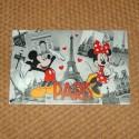 Set de table Mickey et Minnie à Paris