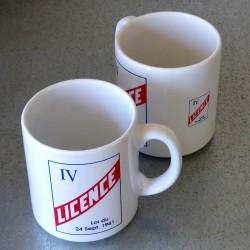 Mug en grès Licence IV Bar Café