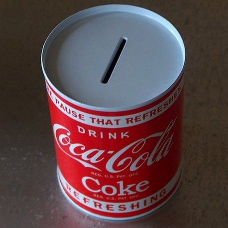 Tirelire Coca-Cola Refreshing