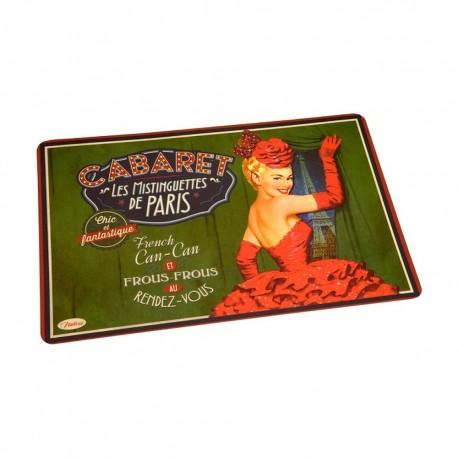 Set de table Cabaret French Cancan