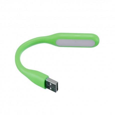 Lampe verte flexible Led USB