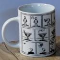 Mug Snoopy Turbulences