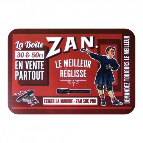 Set de table rouge Meilleur Réglisse Zan