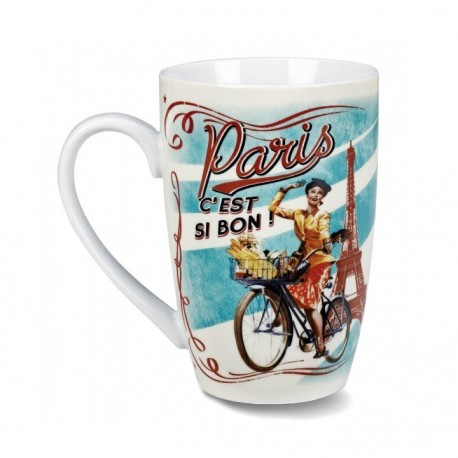 Grand mug Paulette Paris C'est Si Bon