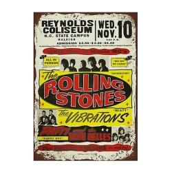 Plaque Rolling Stones en concert