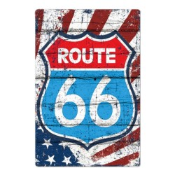 Plaque Logo US Route 66