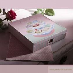 Coffret Cupcakes et ses serviettes