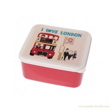 Boite lunch I Love London Bus Gentlemen