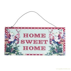 Plaque home sweet home dotcomgiftshop rexinter