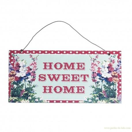 Plaque home sweet home dotcomgiftshop rexinter