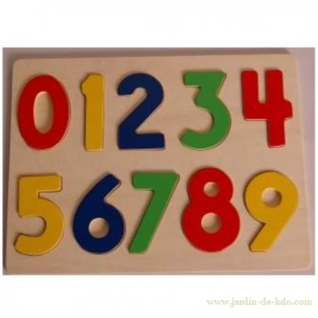 Puzzle Bois Chiffres